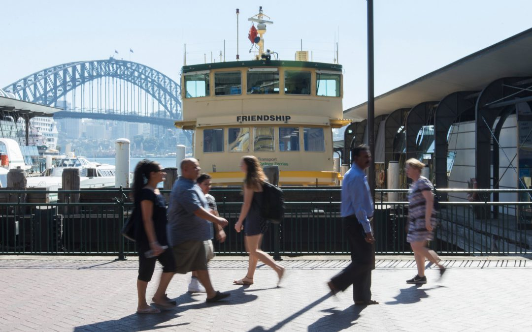 TorchMedia renews contract to stay on board with Sydney Ferries