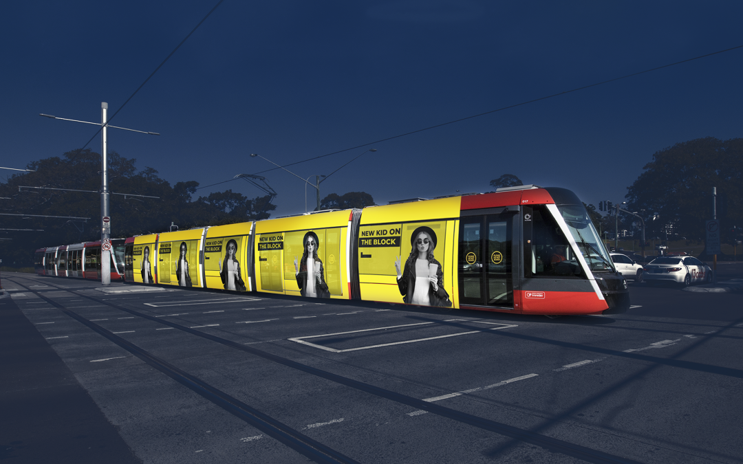 TorchMedia launches advertising on Sydney CBD and South East Light Rail