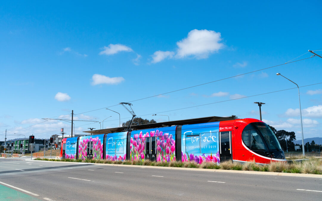 Canberra Light Rail Full Wrap